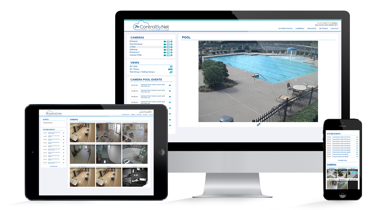 Cloud Surveillance Video can be Accessed from Any Device
